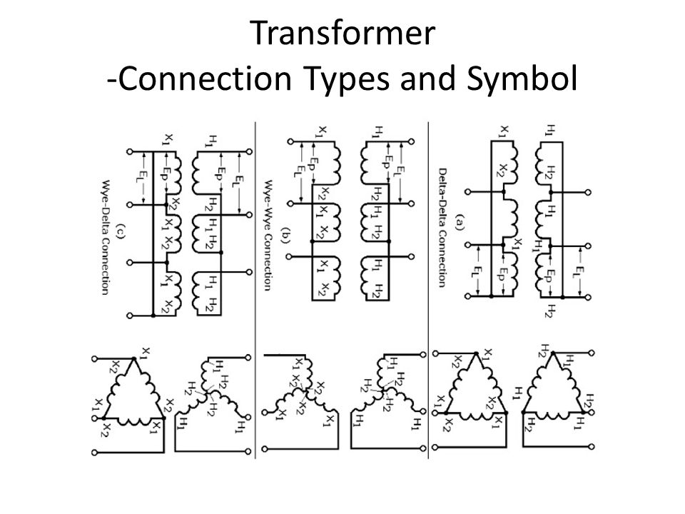 Transformer+ Connection+Types+and+Symbol wye delta wiring diagram roslonek net,Wye Delta Wiring Diagram