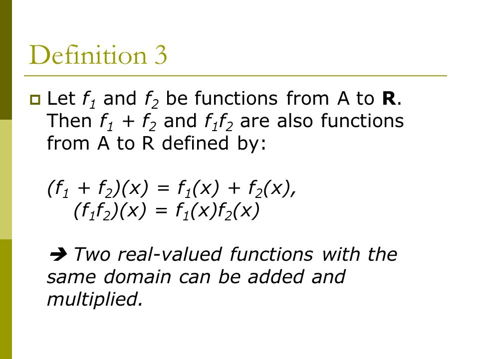 Functions ppt download for Floor function definition