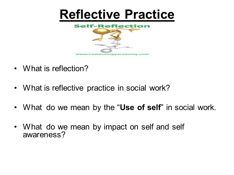 reflecting on my social work placement