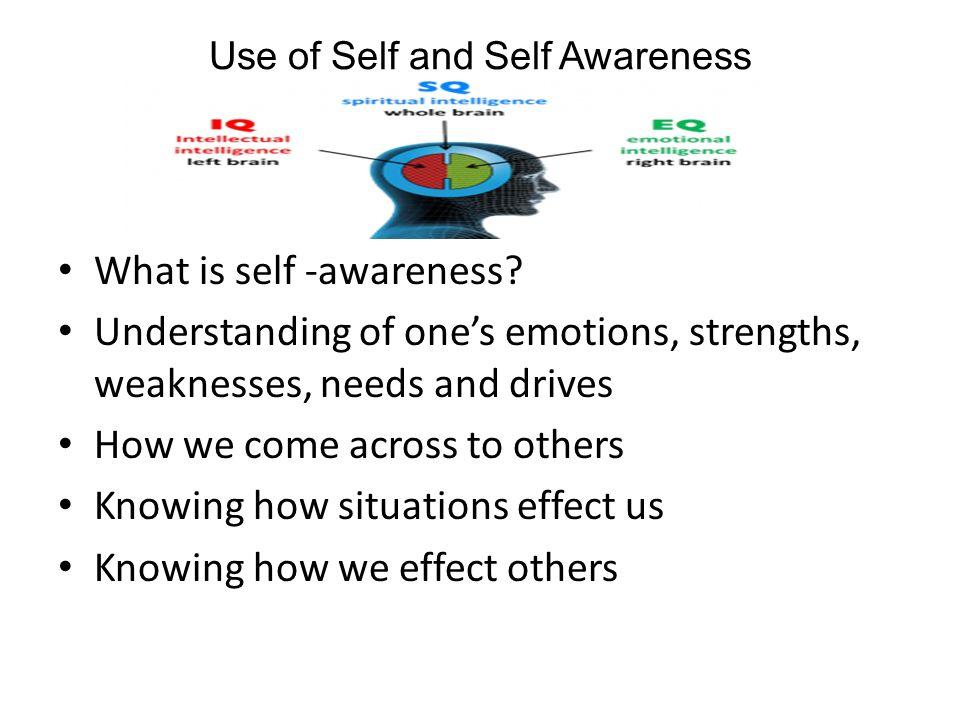 how to build up self awareness