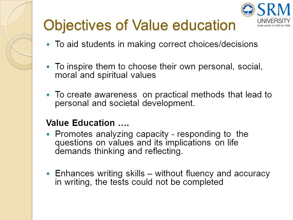 Essay on the value of education