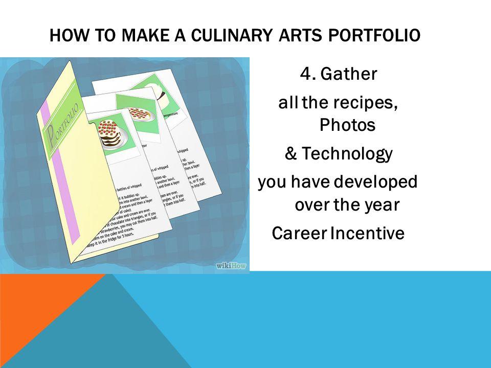 Culinary Arts Student Portfolio Ppt Download