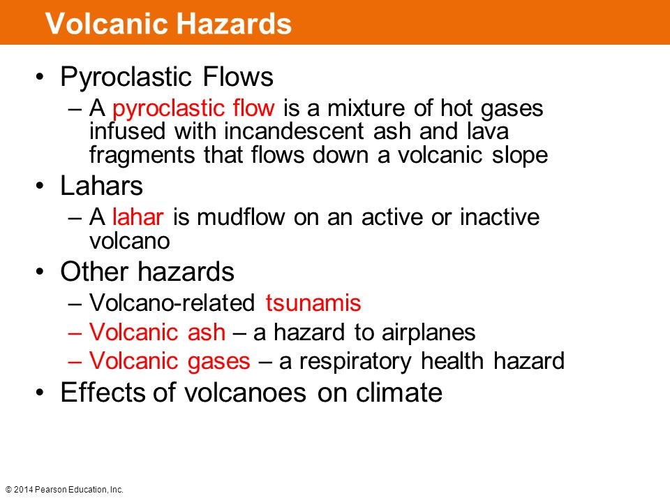 The nature of volcanic hazards essay