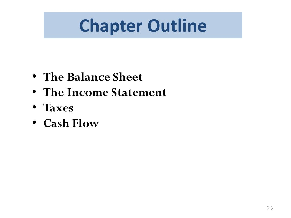 chapter 5 balance sheet and statement of 5-1 chapter 5 balance sheet and statement of cash flows 5-2 lecture outline it should be emphasized that this chapter is a review chapter and the intent is to  5-3 b limitations of the balance sheet 1 current value is not reflected 2 estimates and judgments must be utilized.