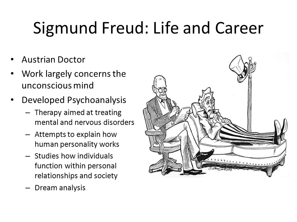 an analysis of the history of psychoanalysis and sigmund freuds psychoanalytic work Psychoanalytic theory sigmund freud (1856-1939) psychic determinism.