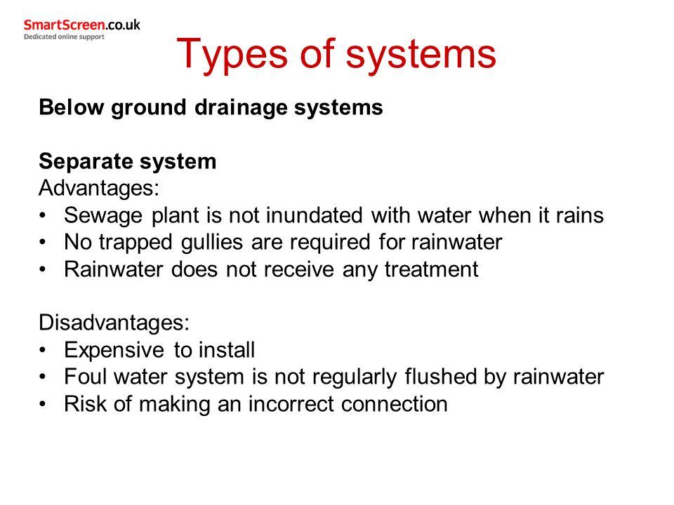 Unit 209: Drainage systems