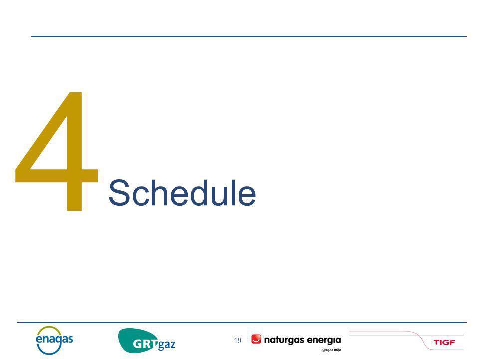 4 Schedule