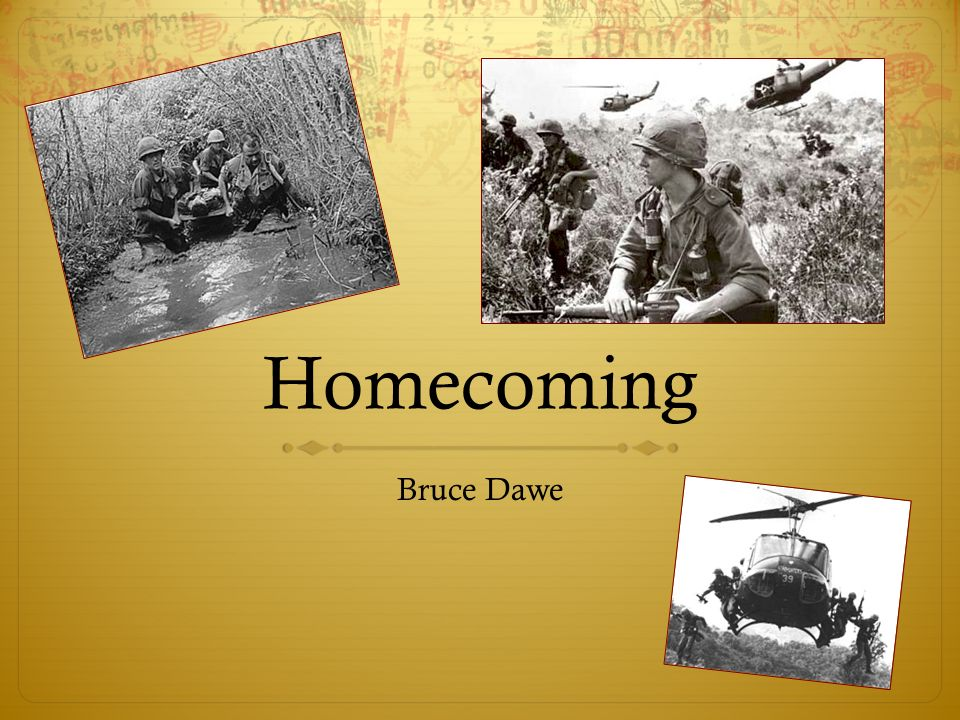 Homecoming by bruce dawe and beach