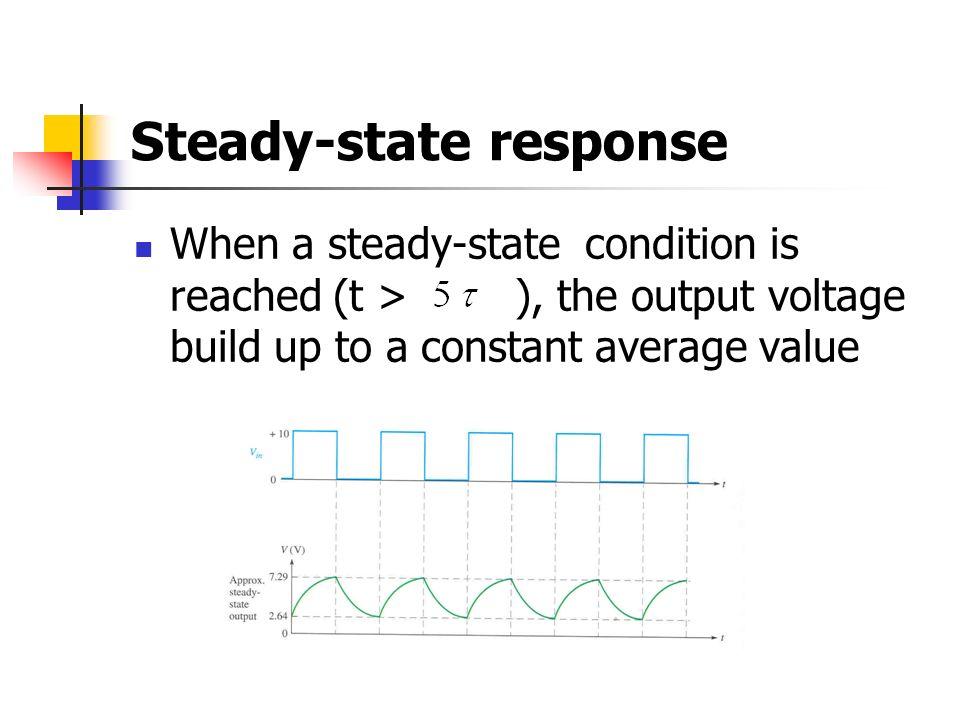 Steady-state response