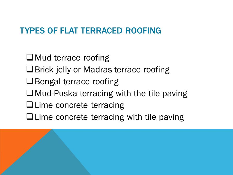 Types of roof tiles ppt 3 roof 18 roofing materials for Types of roofing materials and cost