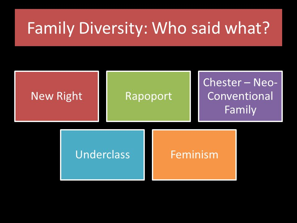 an overview on the diversity of the families This award-winning text treats family diversity as the norm, while overview of family history of social problems and diversity in families.