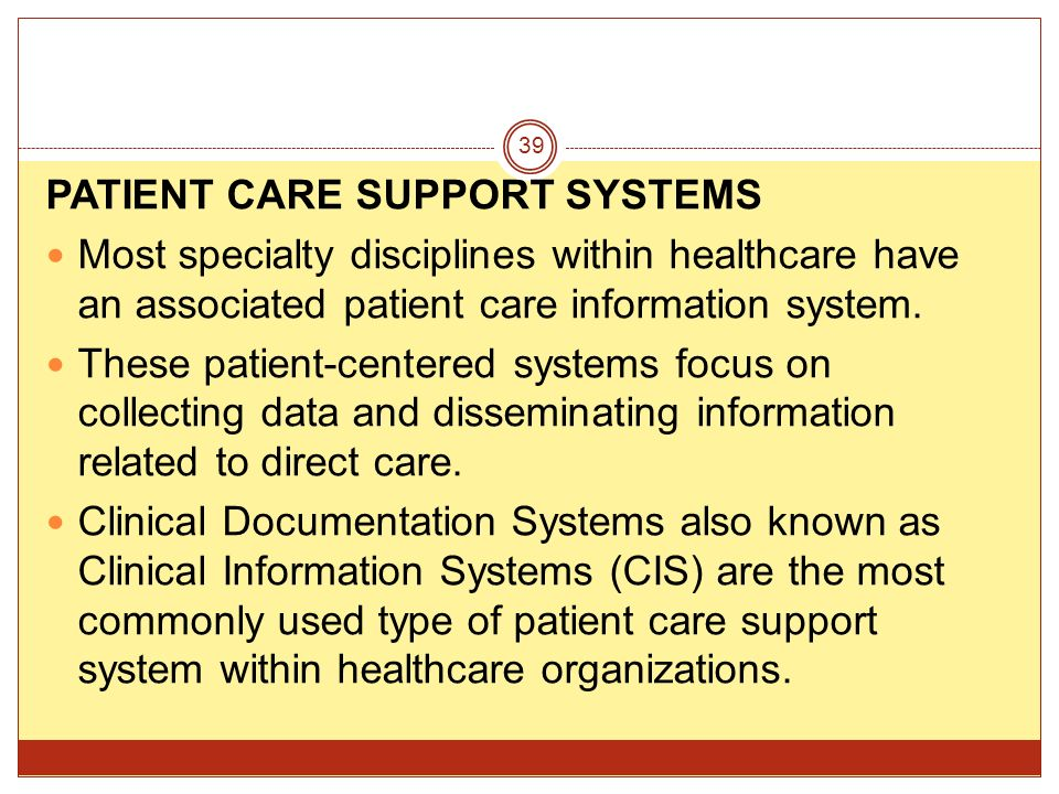 navigating clinical information systems types and Types of management information systems by jennifer williams - updated june 29, 2018 management information systems employ information technology to collect and communicate all the information a company or institution uses to operate.