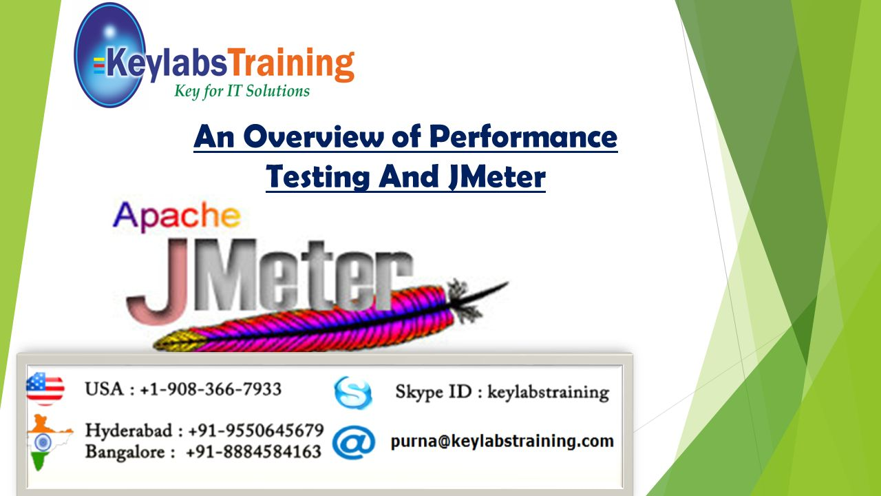 An Overview of Performance Testing And JMeter
