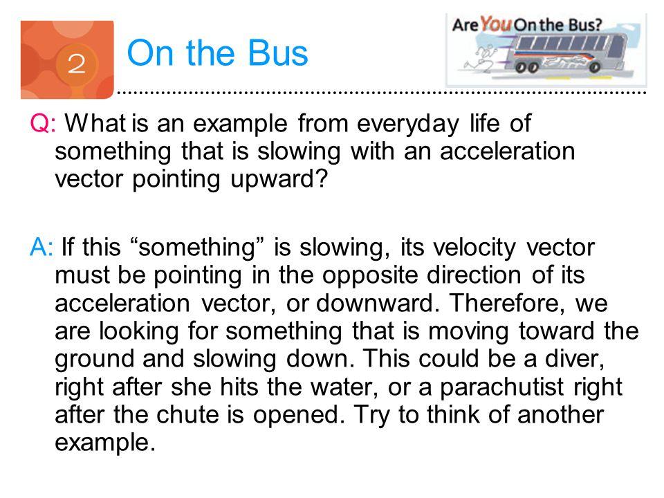 Examples Of Velocity In Everyday Life Describing Moti...