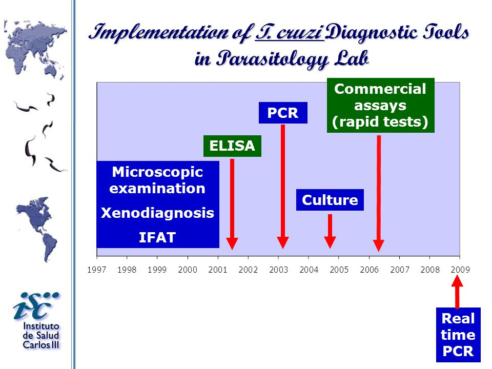 Implementation of T. cruzi Diagnostic Tools