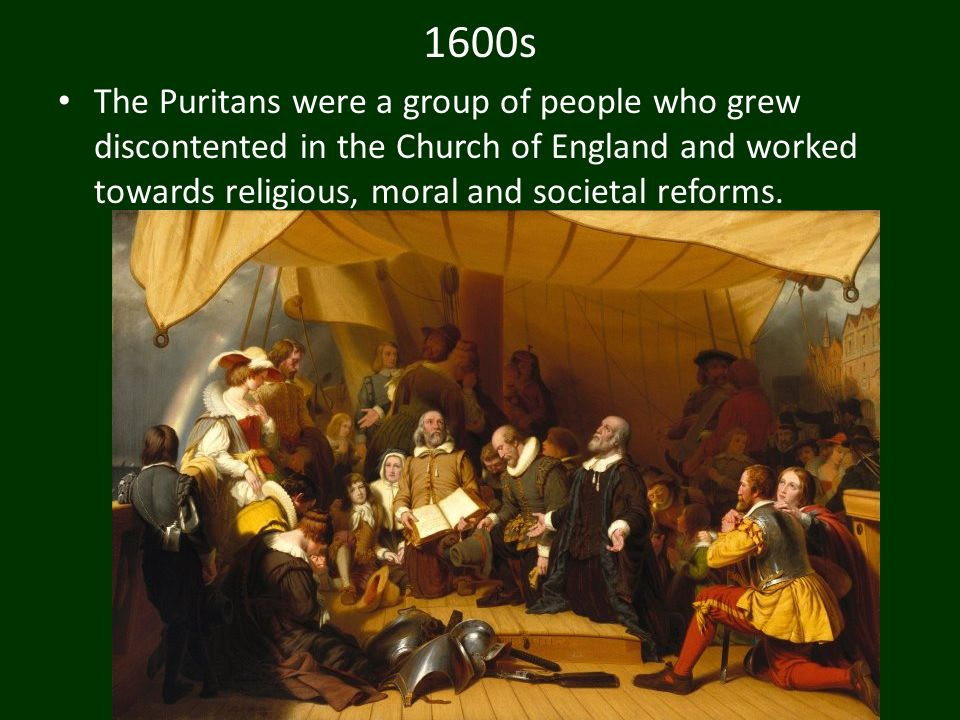 a discussion on the puritans Puritans the puritans were a group of people who grew discontent in the church of england and worked towards religious, moral and societal reforms.
