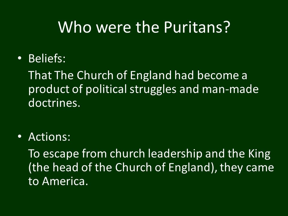 a comparison of puritanism and deism Pull their caps over their ears, so great was the difference in utterance' migrating  n  turned from rigid theology tow ard natural science the values of deism.