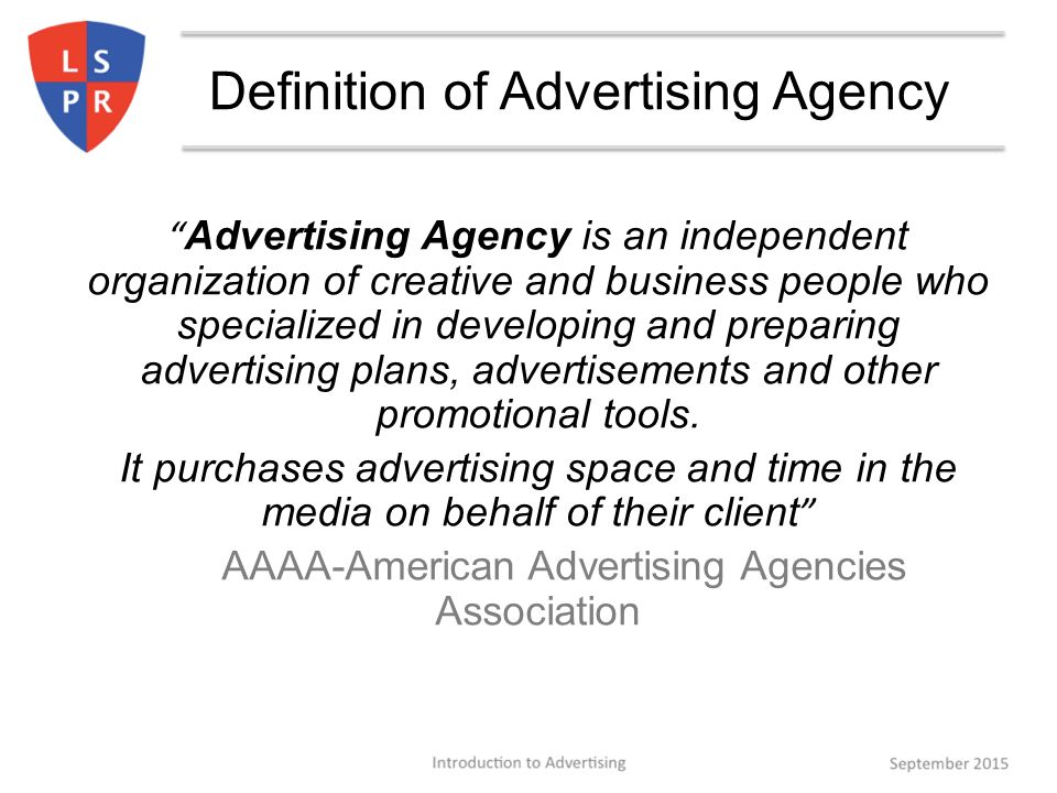 Types and functions of advertising agency ppt video for Bureau definition