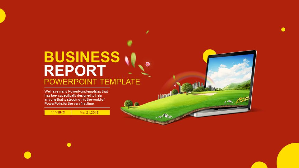 Business report powerpoint template ppt video online download business report powerpoint template toneelgroepblik Gallery