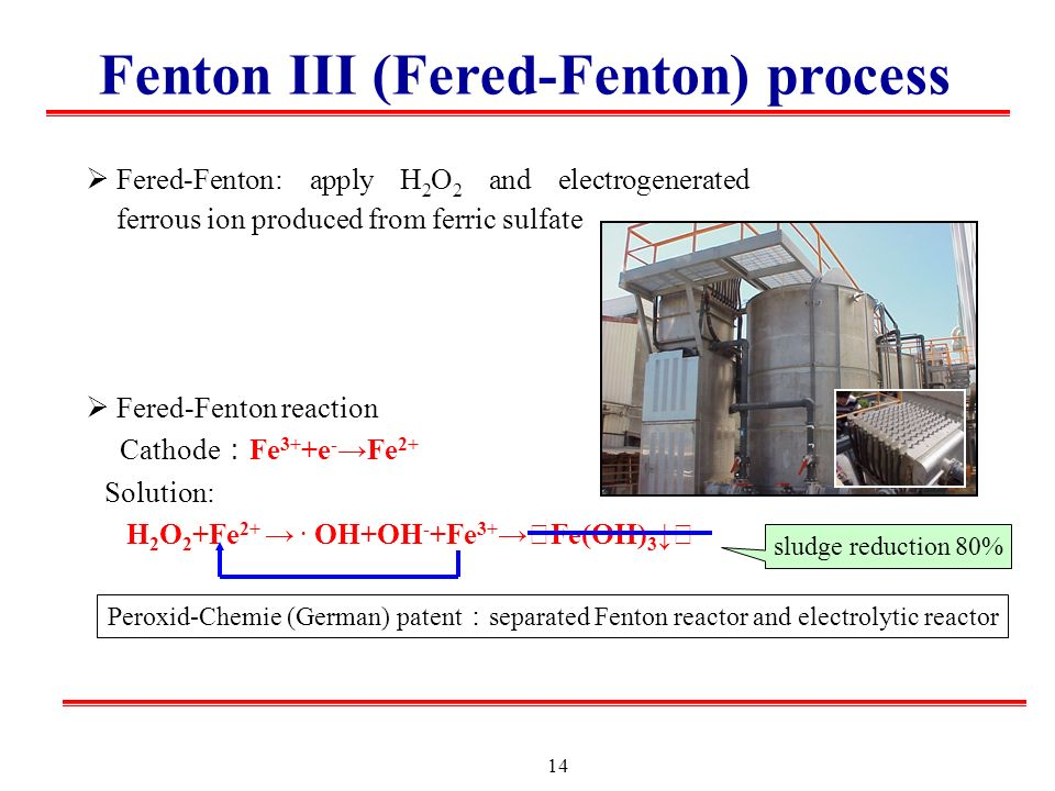 Fenton Family - Advanced Oxidation - ppt video online download