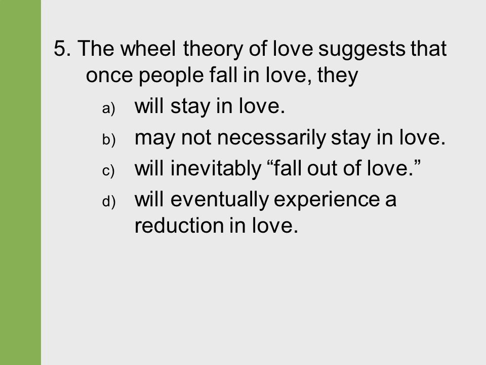 the the wheel theory of love Color wheel is commonly accepted as a visual representation of color theory this color wheel was invented by desire, and love red is a very emotionally intense.