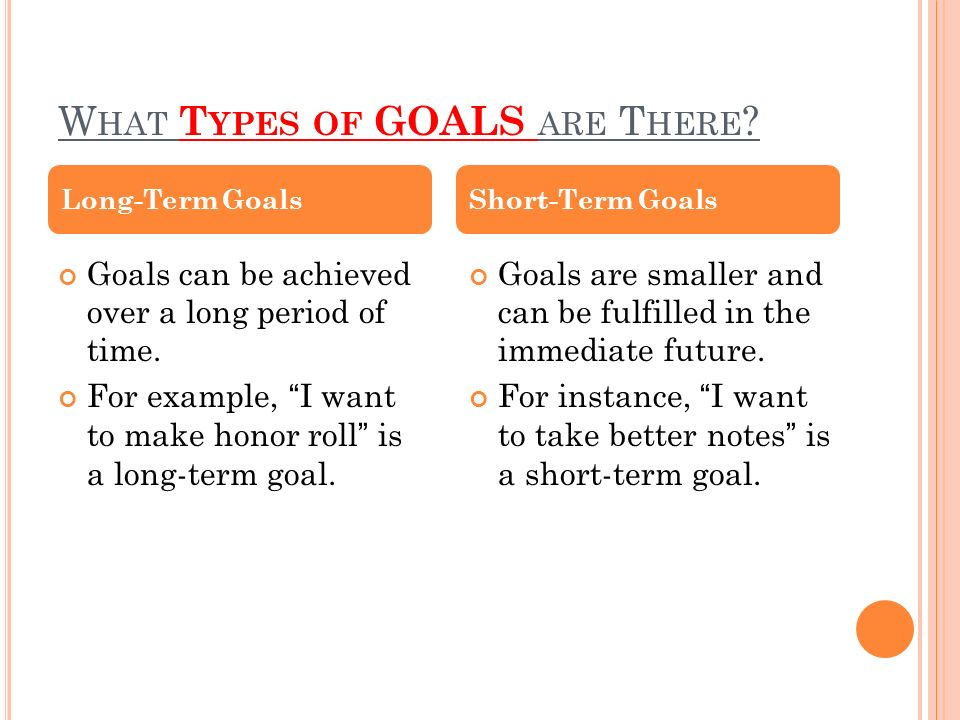 MY PERSONAL HEALTH GOAL ppt video online download