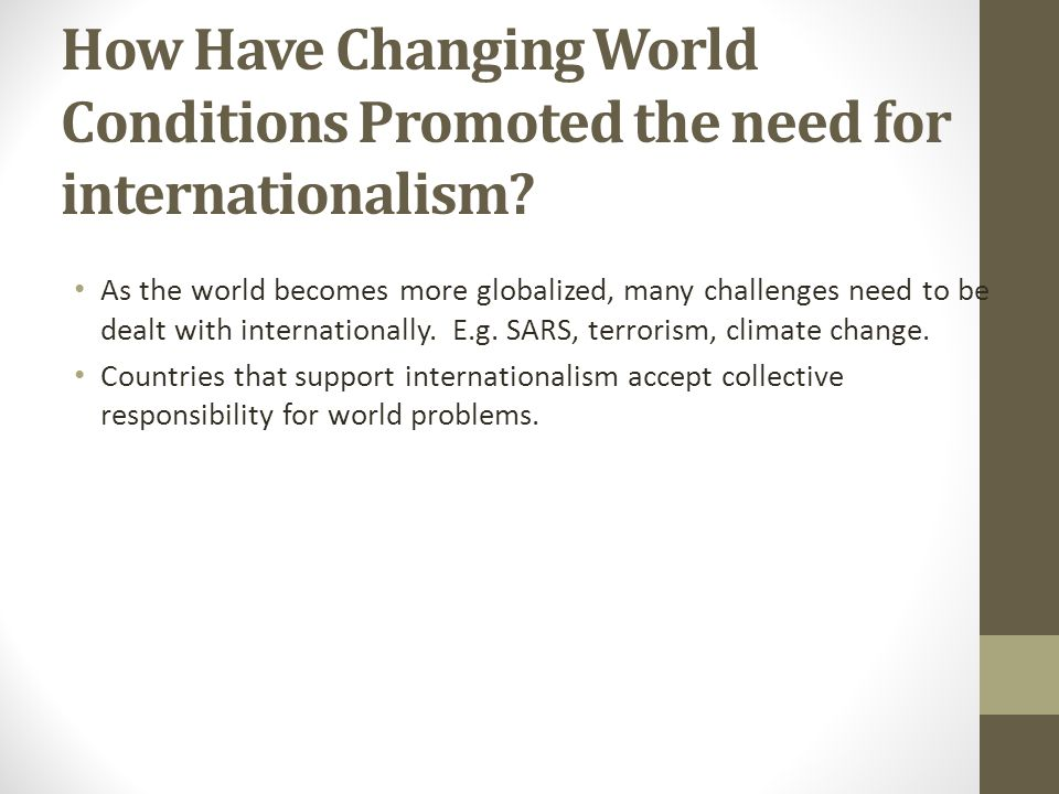 how has changing world conditions promoted 20 of your songs that changed the world 31 january 2013 share this with facebook so i think it both changed, and continues to change, the world for the better.