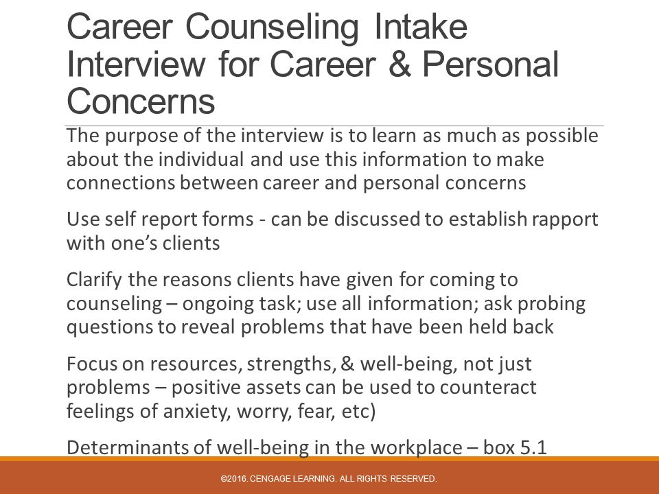 career development an holistic approach View career counseling chapter summaries from psychology • psyc 5 at walla walla university career counseling: a holistic approach chapter 1: historic development and some basic issues historical.