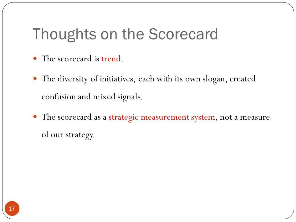 putting the balanced scorecard to work pdf
