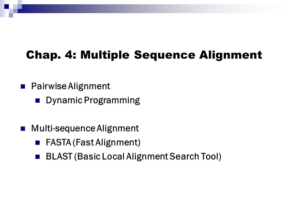 Ppt multiple sequence alignment powerpoint presentation id:4140584.