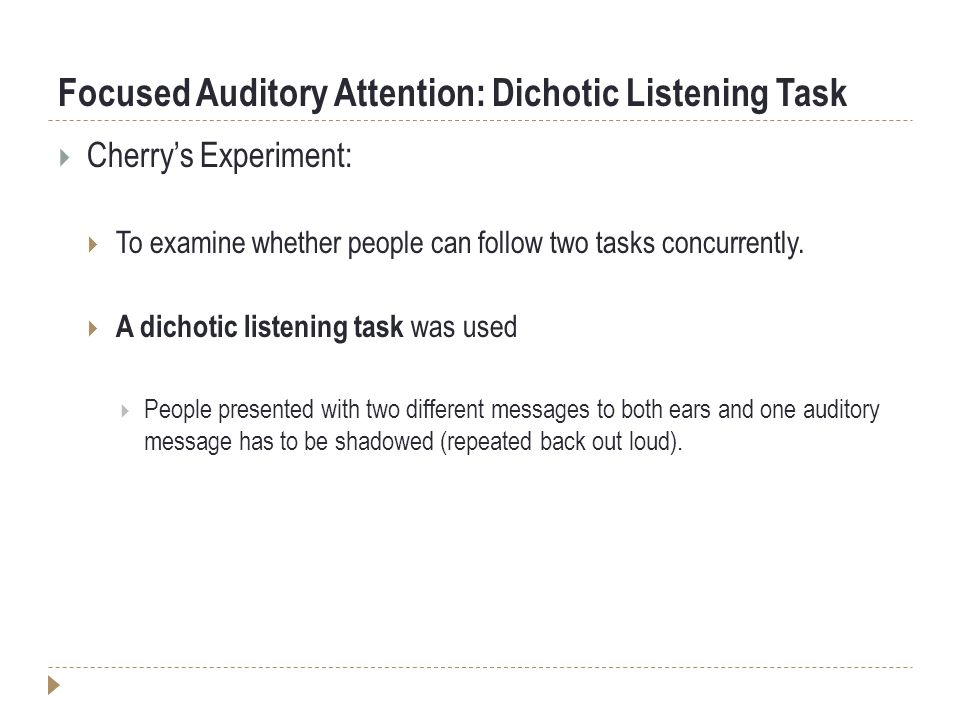Auditory Training for Central Auditory Processing Disorder