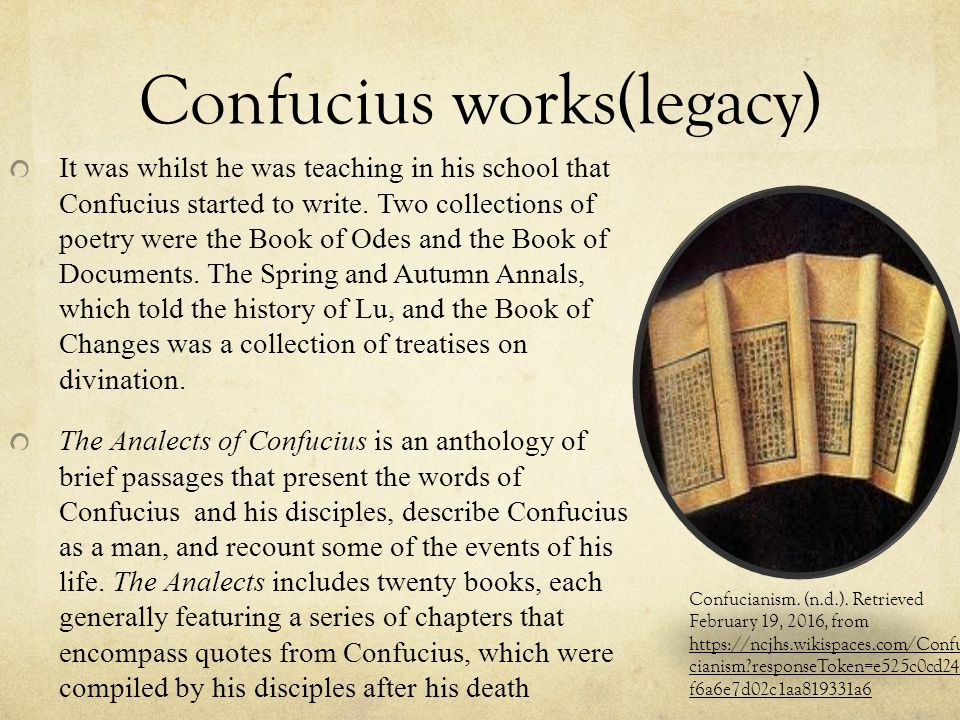 what are some historical figures and events of confucianism People from various philosophical perspectives have examined, analyzed,   confucius was an educator, philosopher and politician in the history of  things  properly and without being perplexed by complicated events.