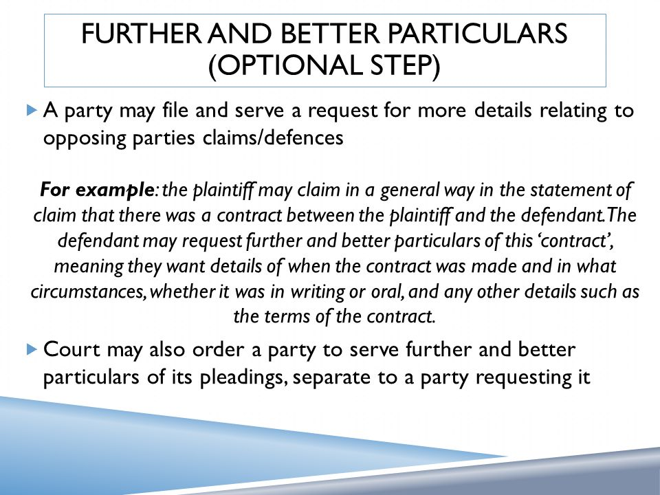 how to serve a statement of claim to a plaintiff