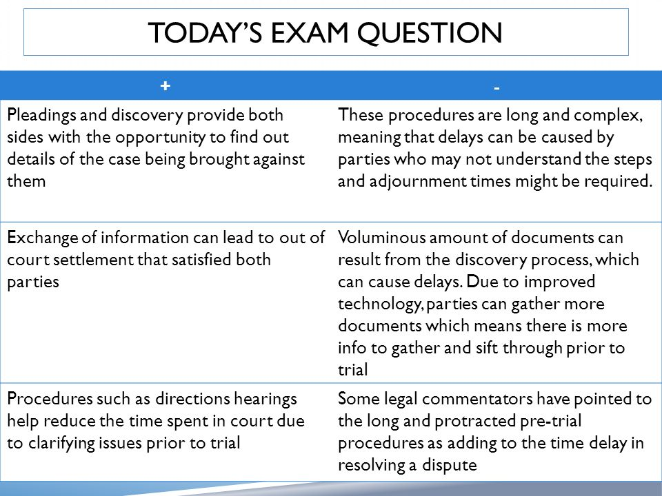 parties and pretrial procedures Uniform pretrial procedures in unrepresented parties a proposed joint pretrial statement the statement shall be signed by all attorneys and.