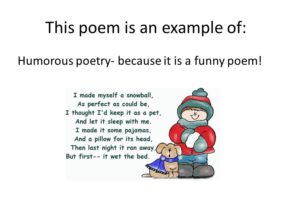 3 poems For each of the twenty-one poems or poetic forms for ap literature and composition, students and teachers will find a link to the poem and multimedia resources these include edsitement lessons as well as edsitement-reviewed websites that discuss the poem, the poet, and its context.