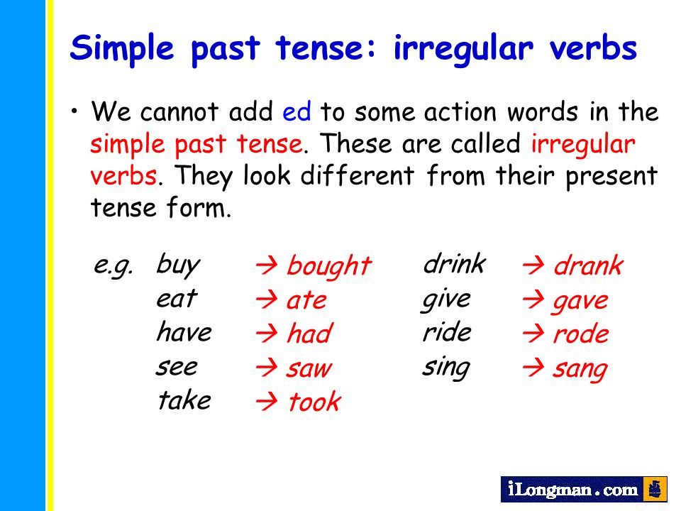 Primary Longman Elect 3B Chapter 5 Simple past tense (2) - ppt ...