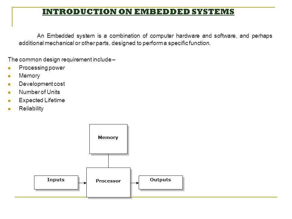 introduction to embedded systems design pdf