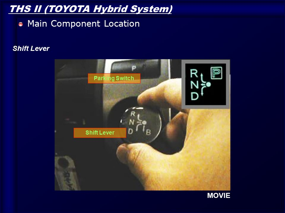 Toyota Forklift Shift Lever Switch : Toyota hybrid technology ppt download