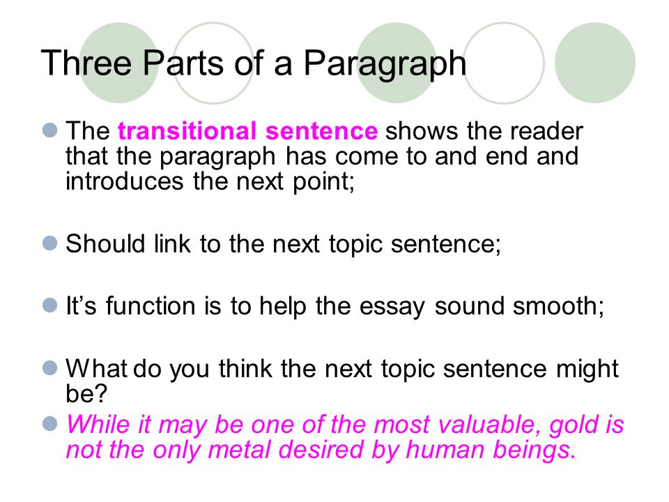 Organizing Your Social Sciences Research Paper: Paragraph Development