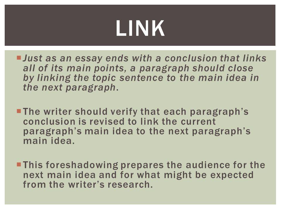 essay links