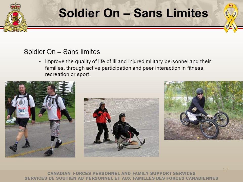 Soldier On – Sans Limites