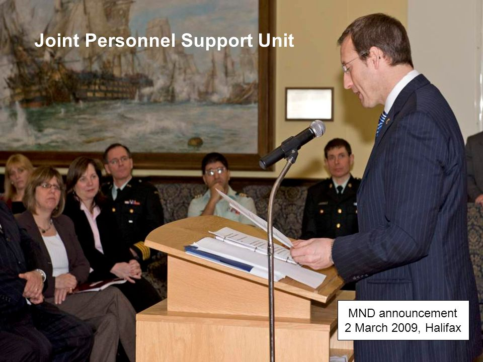 Joint Personnel Support Unit