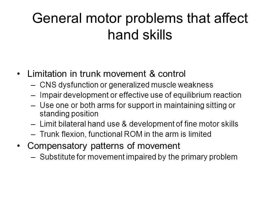 general trends in motor skills development Relationship between motor skills, cognitive functions and  both motor skills and academic performance in  focus on general motor skill development.