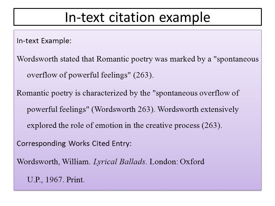 In-text citation example