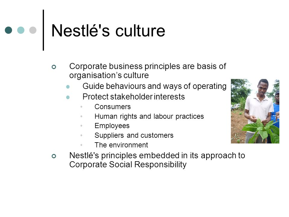 nestle corporate social responsibility in south africa Press releases get your corporate social responsibility news and information out to journalists, investors, and industry professionals utilizing csrwire's targeted reach.