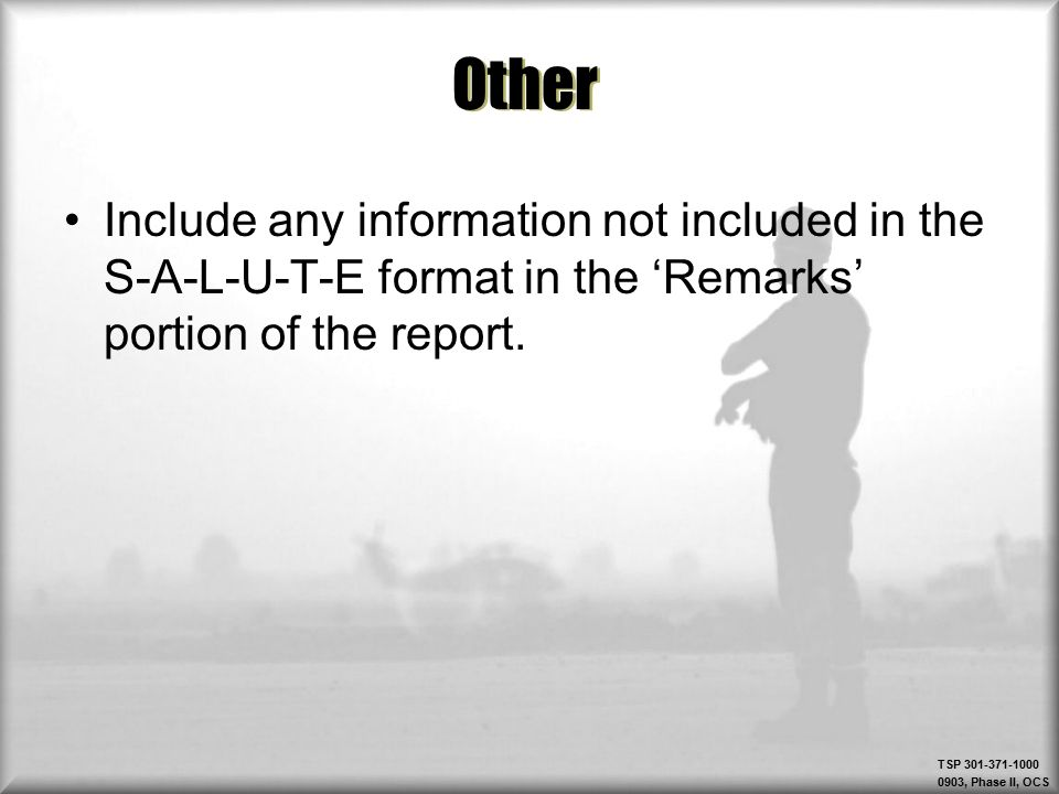 report intel information ppt