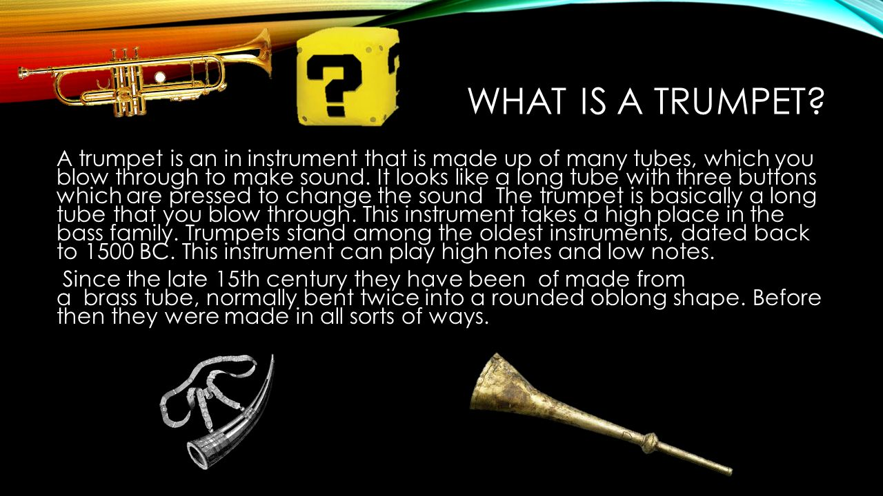 the greatest trumpet player in american history The trumpet mouthpiece: a study of its history, function and development kent foss significantly standardized the american mouthpiece market as many trumpet players emulated bud herseth's orchestral trumpet 7.