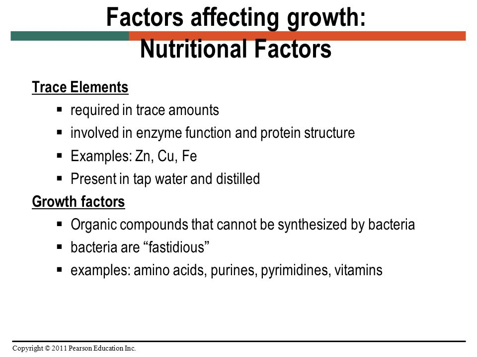 factors affecting the growth of bacteria Reduce or prevent microbial growth and reproduction  factors 2 defining the  acronym fattom and describe the factors affecting microbial growth 3  examining  3 food safety, bacteria spoilage: usda food safety and  inspection service.