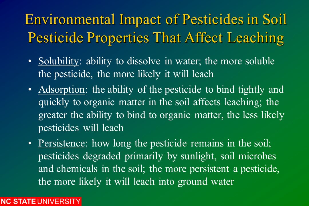 environmental effects of pesticides Use of pesticides: benefits and problems associated with pesticides the environmental impacts of benefits and problems associated with pesticides related.