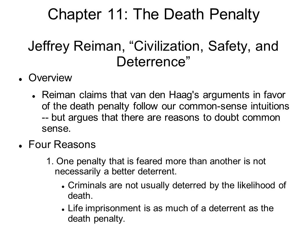 the death penalty a necessary evil essay